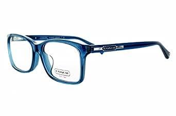 Coach Glasses Frames Blue : Amazon.com: COACH Eyeglasses HC 6043F 5028 Blue 54MM: Clothing