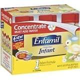 Enfamil Infant Baby Formula Concentrate 8 oz Size 8 oz by Enfamil