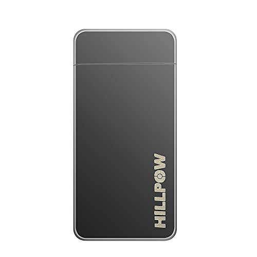 HILLPOW Dual Arc Flameless Electronic Lighter - Rechargeable Lighter Windproof, Cigarette Lighter, Candle Lighter, USB cable, Gift Box (Elite Electronic Cigarette compare prices)