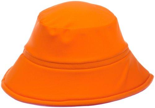 Flap Happy Infant Fun in the Sun Hat Sunset Combo, Orange/Azalea, Large