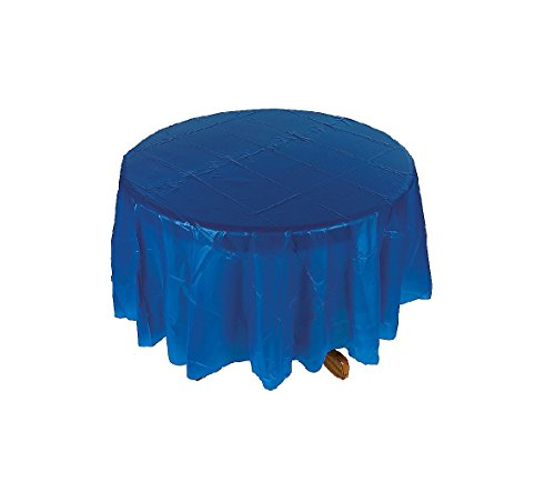 Blue Round Table Cover - Party and Events - 1