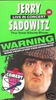 Jerry Sadowitz - Live In Concert - The Total Abuse Show [1988] [VHS]