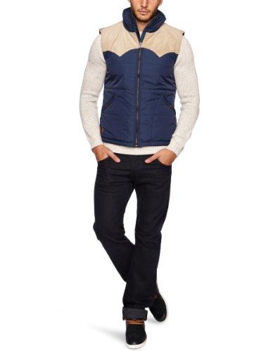 Voi Jeans Heartbeat Men's Gilet Navy Large