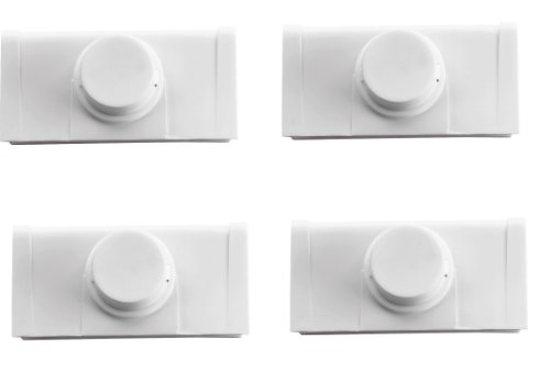 Safety 1st Bi-Fold Door Lock, 4 Count - 1