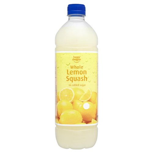 Happy Shopper Whole Lemon Squash 12x1 Litre