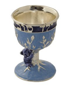Hand Painted Small Koala Kiddush Cup by Quest Gifts (Quest Kiddush Cup compare prices)