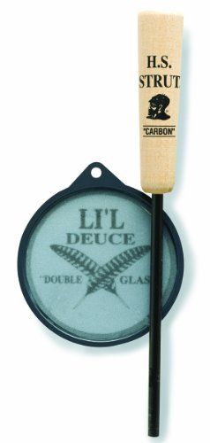 Hunters Specialties Li'L Deuce Double Glass Friction Pan Calls