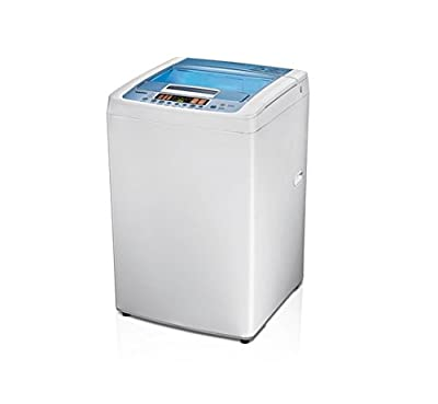 LG T7508TEDLL Fully-automatic Top-loading Washing Machine (6.5 Kg, Gray)