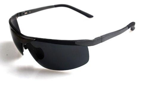TELAM Polarized sunglasses, night vision driving mirror magnesium material outdoor ...