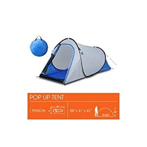 Pop-up Dome Tent For 1 Person