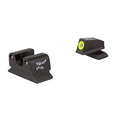 Trijicon BE114-C-600772 Beretta PX4 Compact HD Night Sight Set, Yellow Front Outline by Trijicon
