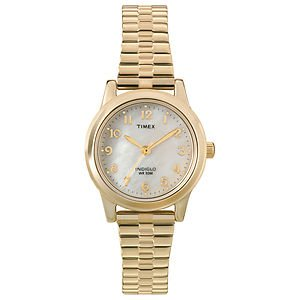 Timex Women'S T2M827 Elevated Classics Dress Stainless Steel Expansion Band Watc Steko Ltd