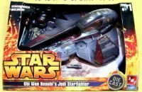AMT - Star Wars Revenge of the Sith Obi-Wan's Jedi Star Fighter (Die Cast Star Wars Kit compare prices)