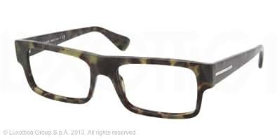 prada pr24pv eyeglasses lab 1o1 green