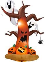 8-ft Tall Airblown Halloween Inflatable Dead Tree