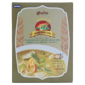 Sai Thai : Chicken Green Curry Ready Meal 200 G Product Of Thailand