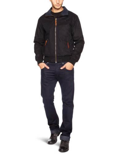 Musto Waxed Snug Men's Jacket Navy Small