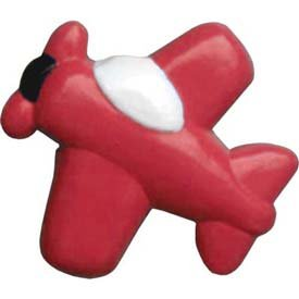 Airplane Shaped Furniture-Drawer Knobs - color Apple Red