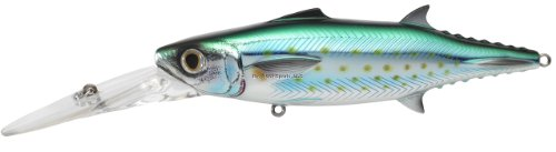 Koppers Mackerel Spanish Salt Water Lure, 6-Inch, Silver/Blue/Green