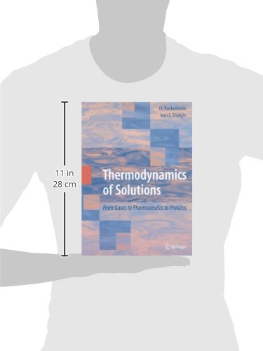 Thermodynamics of Solutions: From Gases to Pharmaceutics to Proteins
