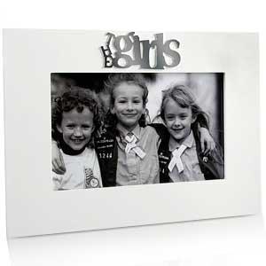 The Girls White Photo Frame