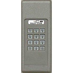 Linear multi code keypad transmitter home improvement store for 12 volt battery for garage door keypad