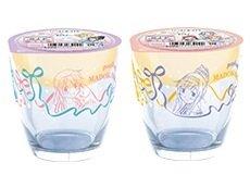 魔法少女まどか☆マギカ  ローソン限定 グラス まどか 杏子 さやか ver