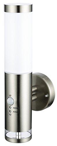 Edelstahl-LED-Auenwandleuchte-Wandleuchte-Lisa-2-mit-Hauptlicht-und-Grundlicht-und-Bewegungsmelder-Auenlampe-Auenleuchte