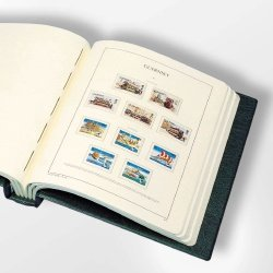 Lighthouse Russia Stamp Album Vol#1 1857-1999 - Hingeless Pages+Binder