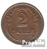 Hungría km-No.. : 506 1934 muy ya Bronce 1934 2 Filler corona (monedas para los coleccionistas)