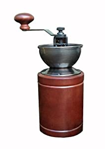 Northwest Glass ks8-22 Hand Operated Coffee Grinder Skerton, Brown by Espresso Parts