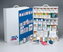 First Aid Only 5 Shelf Industrial First Aid Station with Pocket Liner for 200 Plus Person by First Aid Only