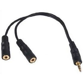 3.5mm Speaker and headphone Splitter