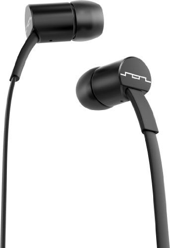Sol Republic 1112-31 Jax In-Ear Headphones With 1-Button Mic And Music Control - Black