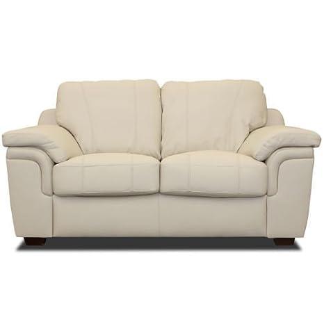NUEVO Grado A De Piel Sintética 3+ 2plazas, sofás, silla con reposabrazos, negro, marrón, crema (2plazas), color crema