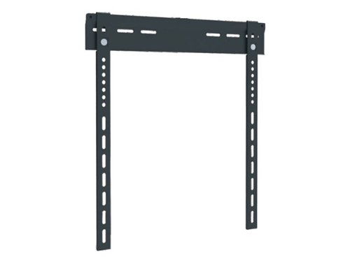 Monoprice 106434 Ultra-Slim Super Low Profile Wall Mount Bracket For 37-63 Inches Lcd/Led, Black