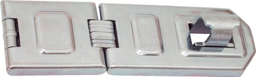 ABUS 140/190 C 7-1/2-Inch All Weather Stainless Steel Hasp, Silver