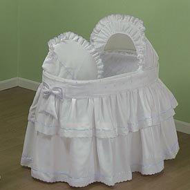 Bassinet Liner Skirt And Hood front-205404
