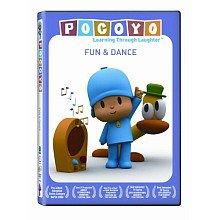 Pocoyo Fun Dance DVD