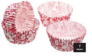 Kitchen Craft - Capsulas Mini Cupcake Vintage, 80 Unids