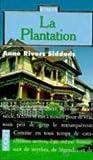 echange, troc Anne Rivers Siddons - La plantation