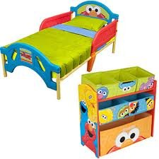 Beautiful Top Sesame Street Elmo Room In A Box Furniture Set Product
