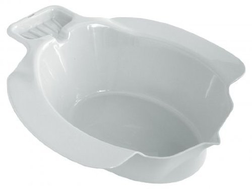 Sitzbad aus Kunststoff - weiß - 1 Stück
