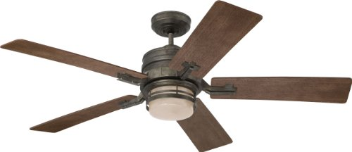 Emerson Cf880Vs Amhurst Ceiling Fan, Vintage Steel