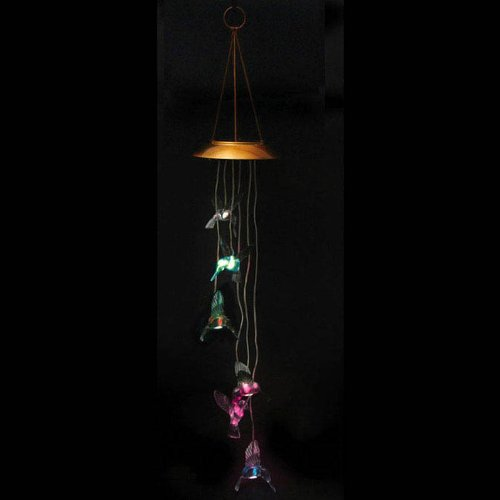 Hummingbird Solar Mobile Wind Chime