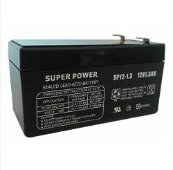 12V 1.3Ah Lead Acid Battery