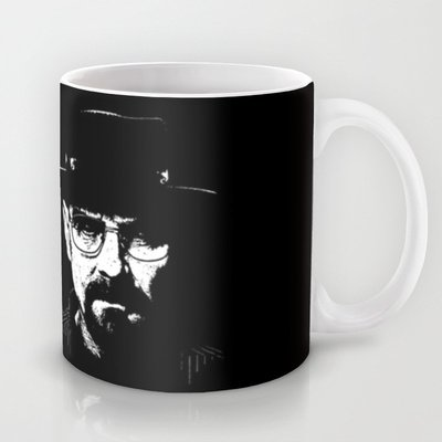 Society6 - Breaking Bad - Heisenberg. Coffee Tea Mug By John Medbury (Lazy J Studios)
