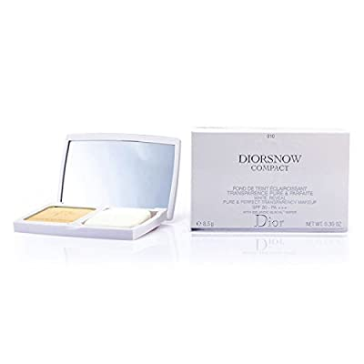 Christian Dior DiorSnow White Reveal Pure and Perfect Transparency Makeup SPF 30 / PA+++ (With Icelandic Glacial Water) 010 Ivory, 0.3oz, 8.5g