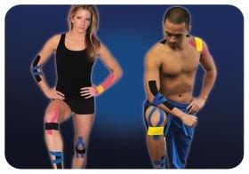 Pro-Tec Athletics Pre-Cut Kinesiology Tape