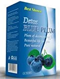Detox Blue Plum Diet Weight Loss Fat Burn Natural Fruits